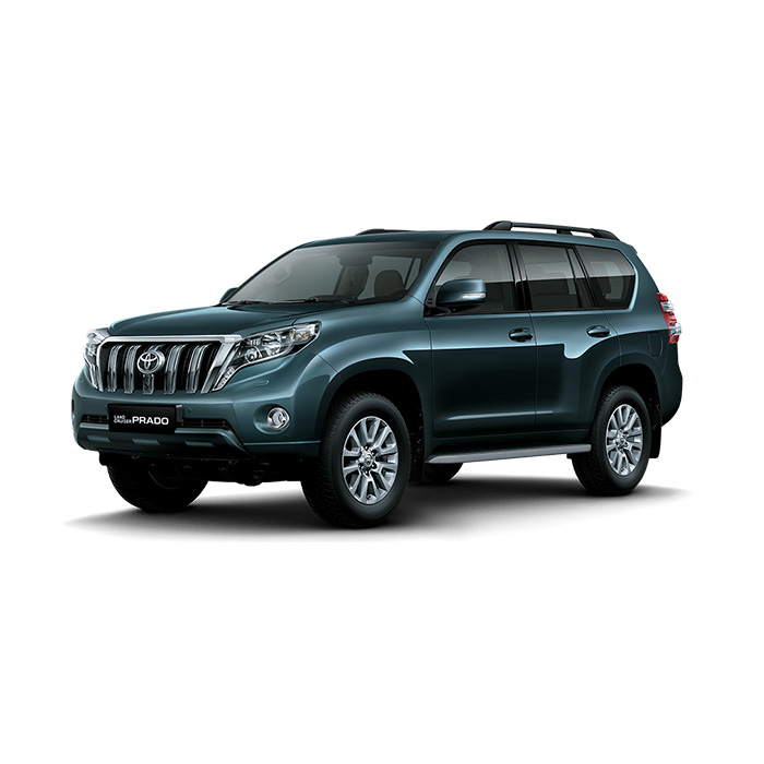 Toyota Land Cruiser Prado Dark Steel Mica