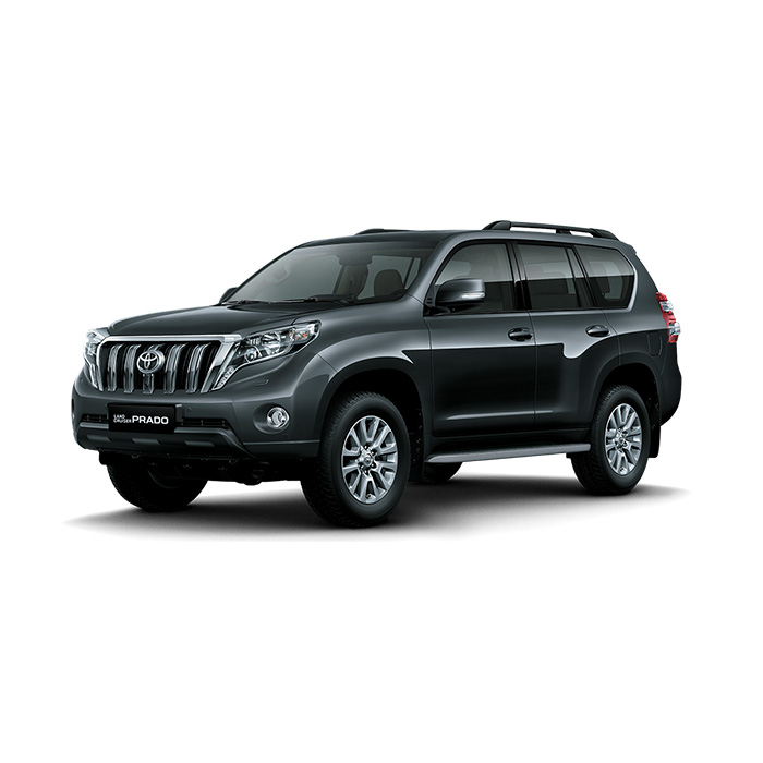 Toyota Land Cruiser Prado Gray Metallic