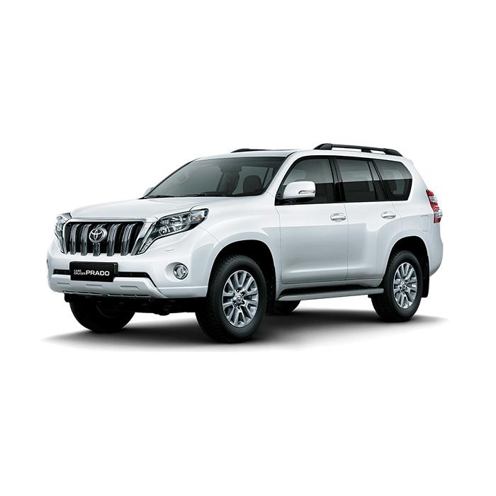 Toyota Land Cruiser Prado White Pearl