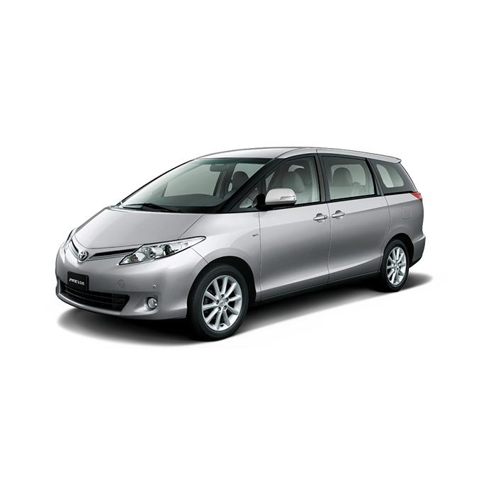 Toyota Previa Silver Metallic