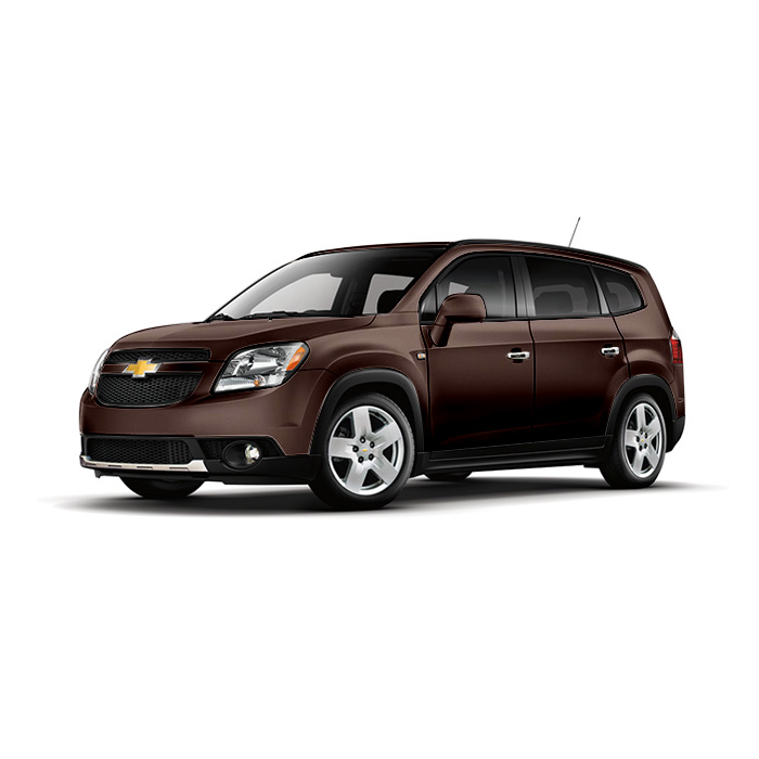 Chevrolet Orlando Deep Espresso Brown Metallic