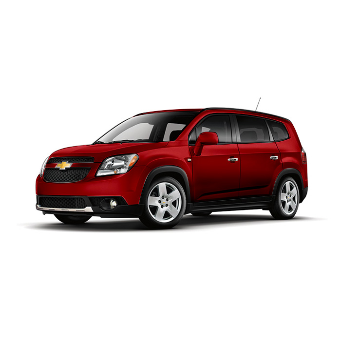 Chevrolet Orlando Velvet Red Metallic