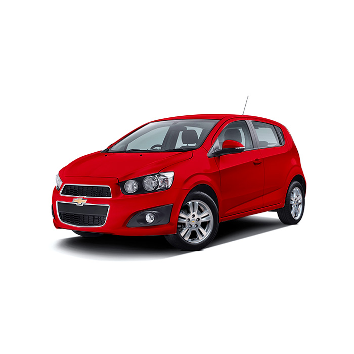 Chevrolet Sonic Hatchback Blaze Red