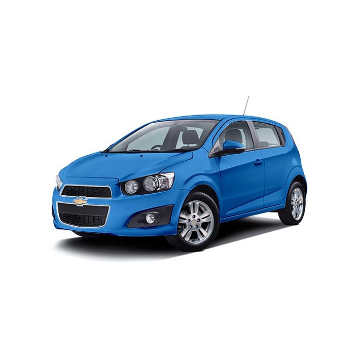 Chevrolet Sonic Hatchback Boracay Blue
