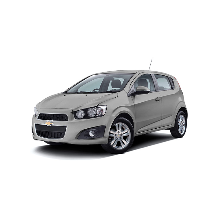 Chevrolet Sonic Hatchback Satin Steel Grey