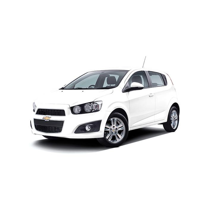 Chevrolet Sonic Hatchback Snowflake White