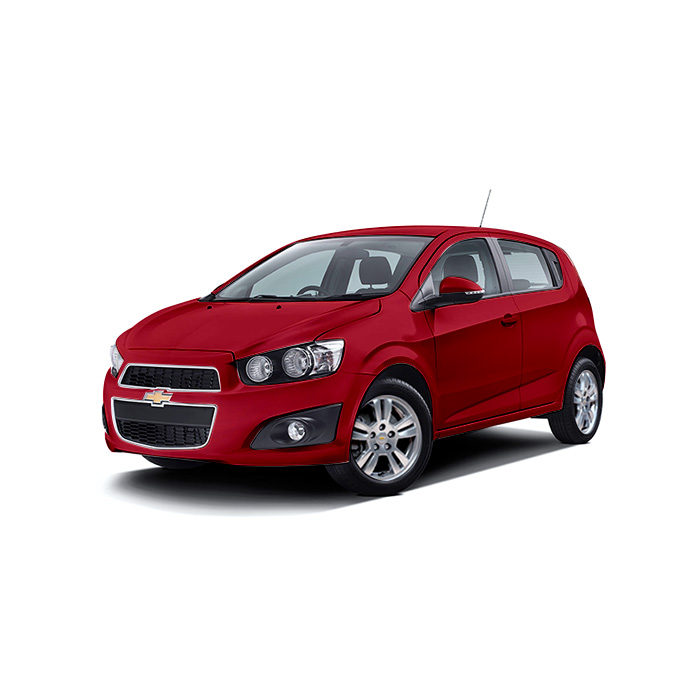 Chevrolet Sonic Hatchback Velvet Red