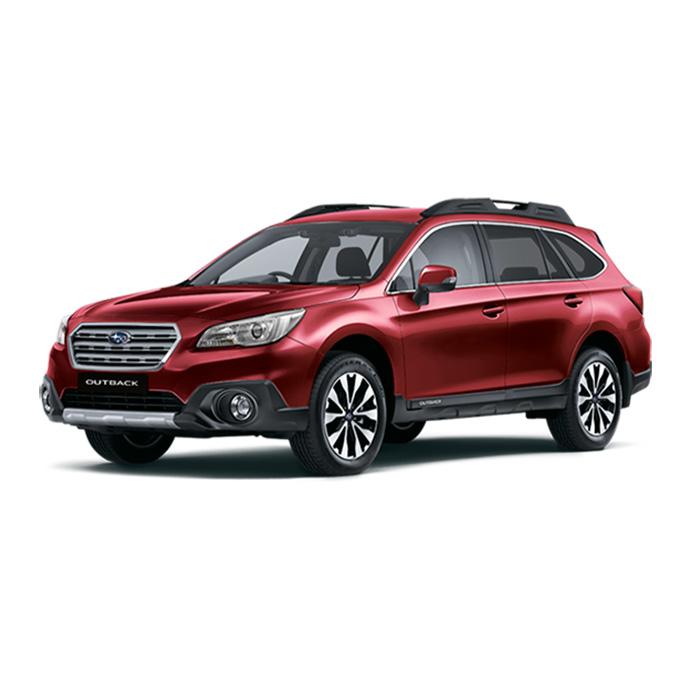 Subaru Outback Venetian Red Pearl