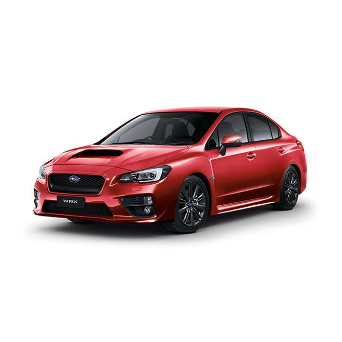 Subaru WRX Lightning Red