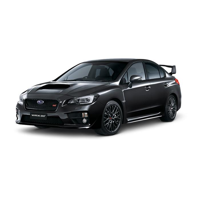 Subaru WRX STI Crystal Black Silica