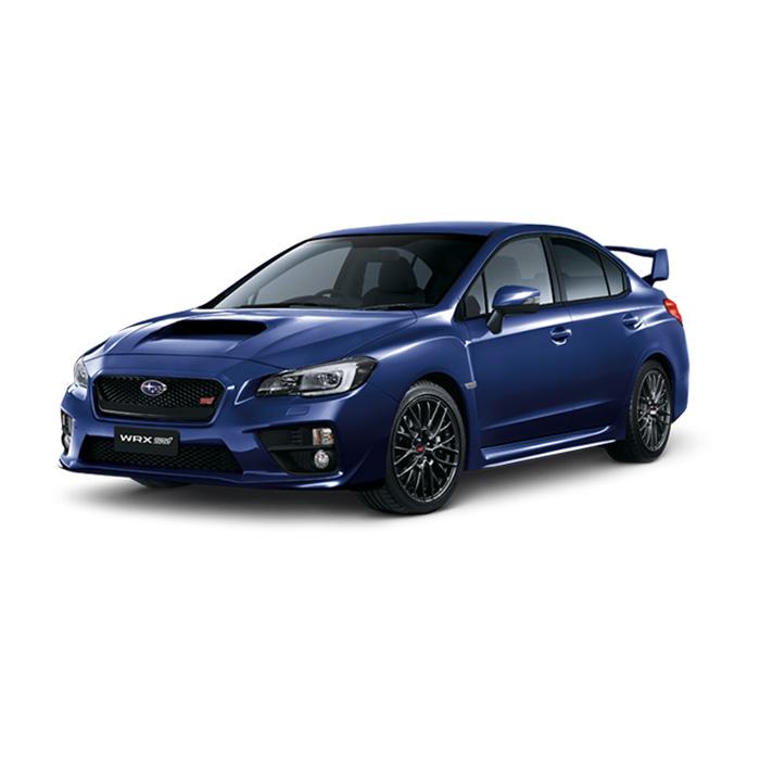 Subaru WRX STI Galaxy Blue Silica