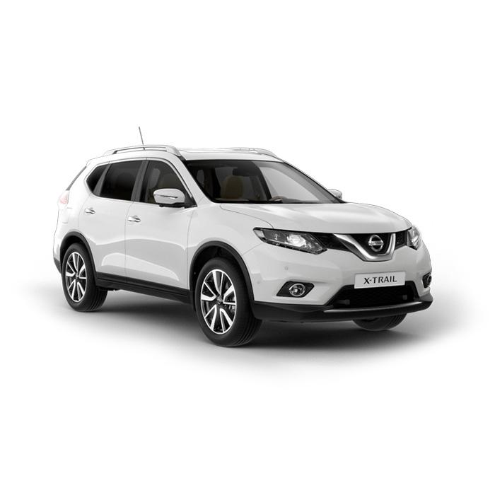Nissan X-Trail Pearl White