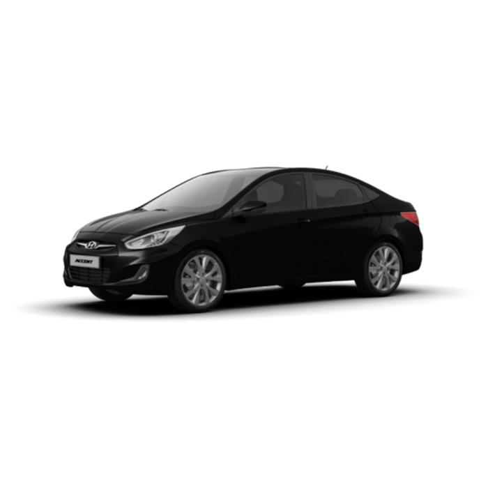 Hyundai Accent Sedan Phantom Black