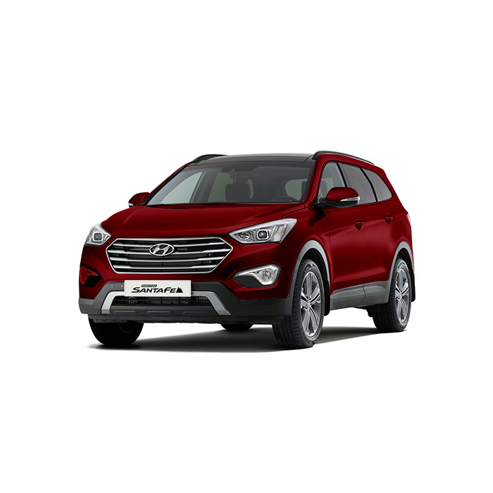 Hyundai Grand Santa Fe Red Melot