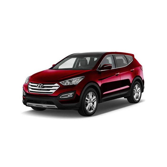 Hyundai Santa Fe Red Meriot