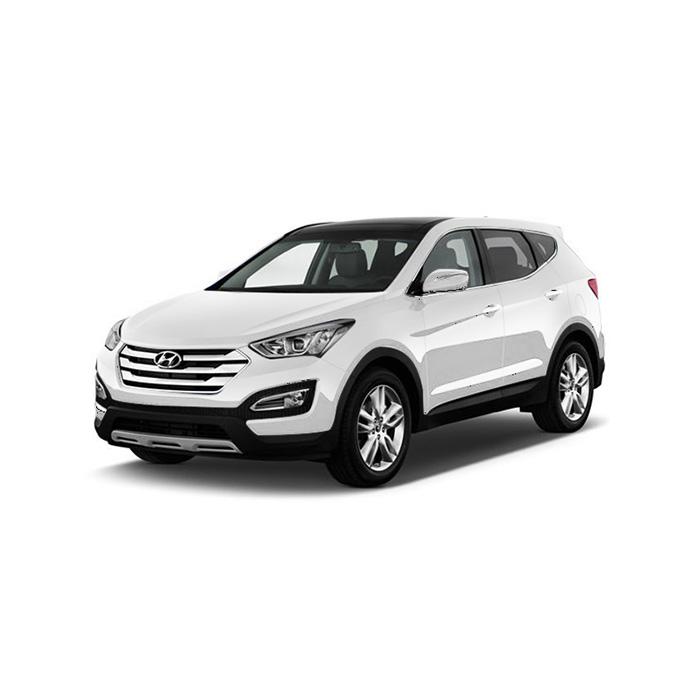 Hyundai Santa Fe Vanilla White