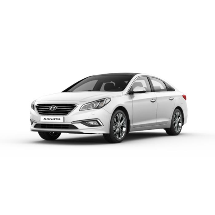 Hyundai Sonata Ice White