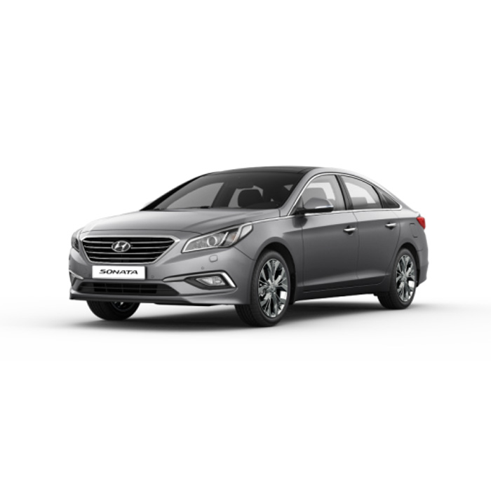 Hyundai Sonata Polished Metal