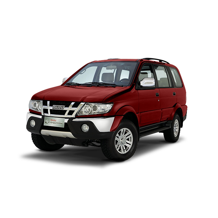 Isuzu Crosswind Garnet Red