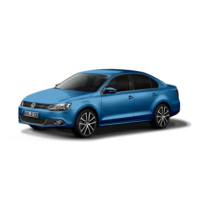 Volkswagen Jetta Blue Silk Metallic