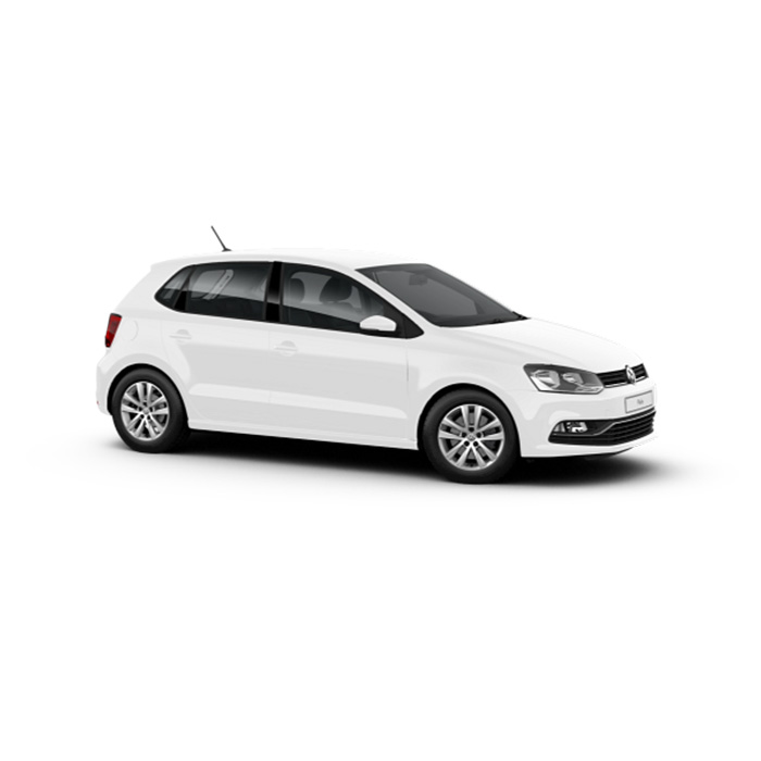 Volkswagen Polo Hatchback Pure White
