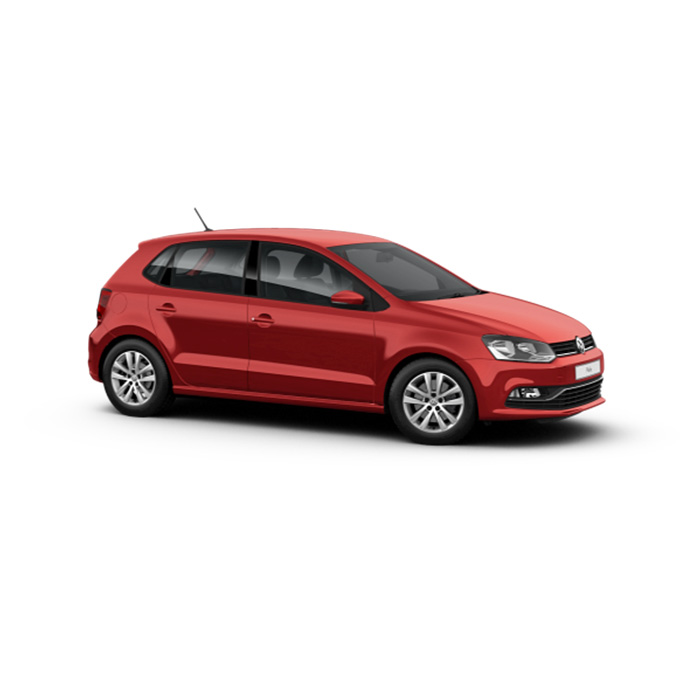 Volkswagen Polo Hatchback Sunset Red Metallic