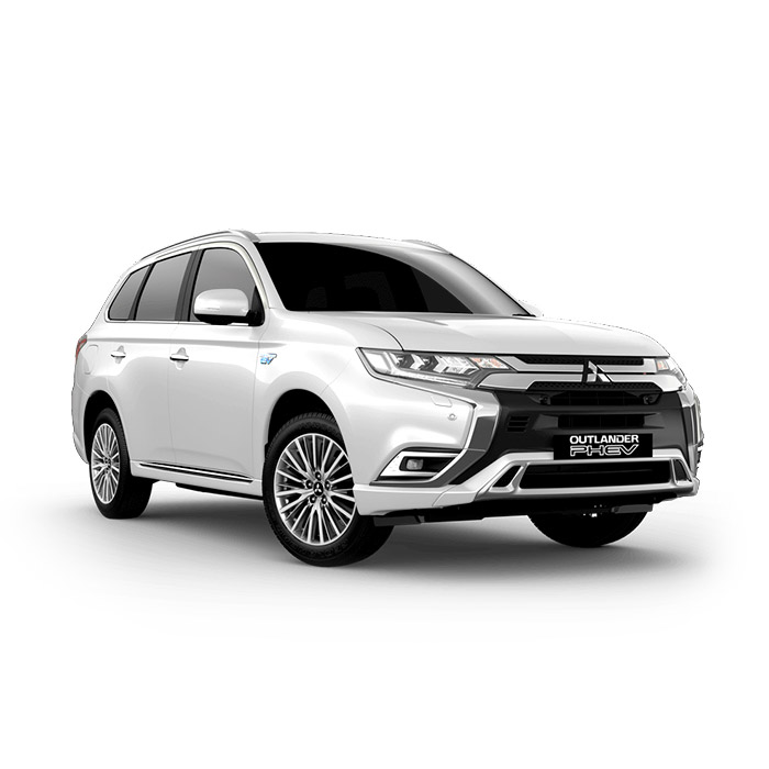 2021 Mitsubishi Outlander PHEV Solid White