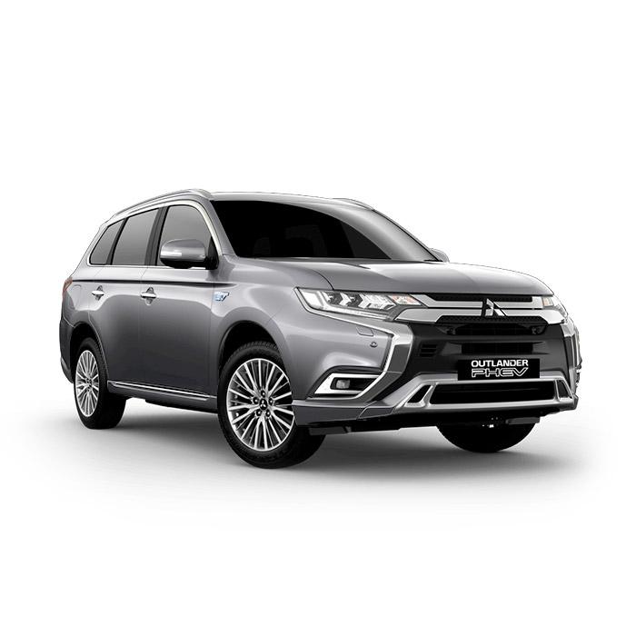 2021 Mitsubishi Outlander PHEV Sterling Silver Metallic