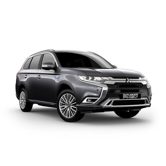 2021 Mitsubishi Outlander PHEV Titanium Grey Metallic