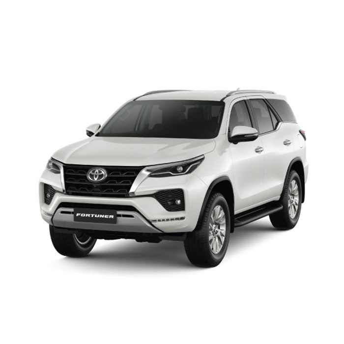 2021 Toyota Fortuner Crystal White Pearl Shine