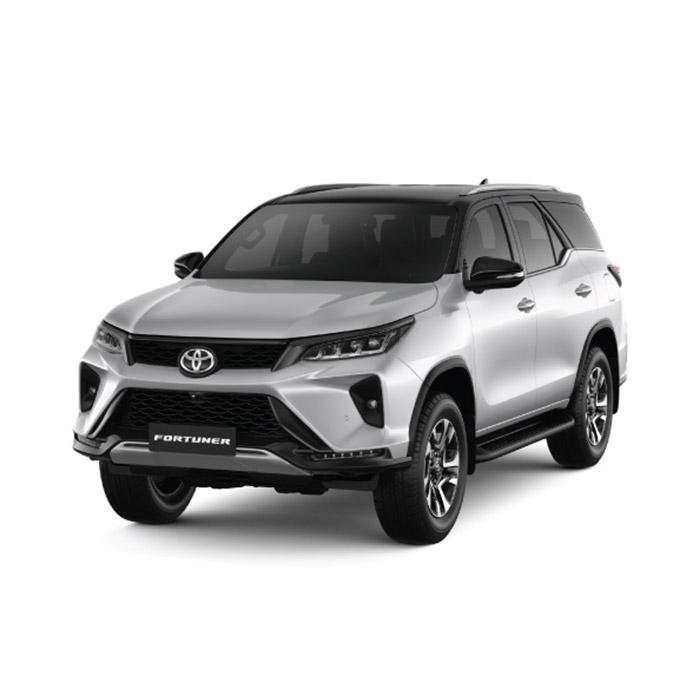 2021 Toyota Fortuner Silver Metallic/Attitude Black Mica