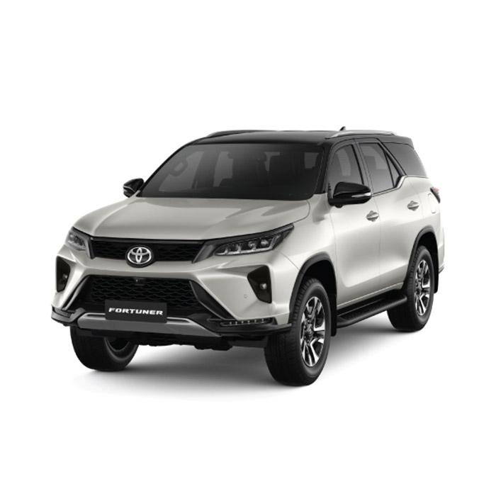 2021 Toyota Fortuner White Pearl Crystal Shine/Attitude Black Mica
