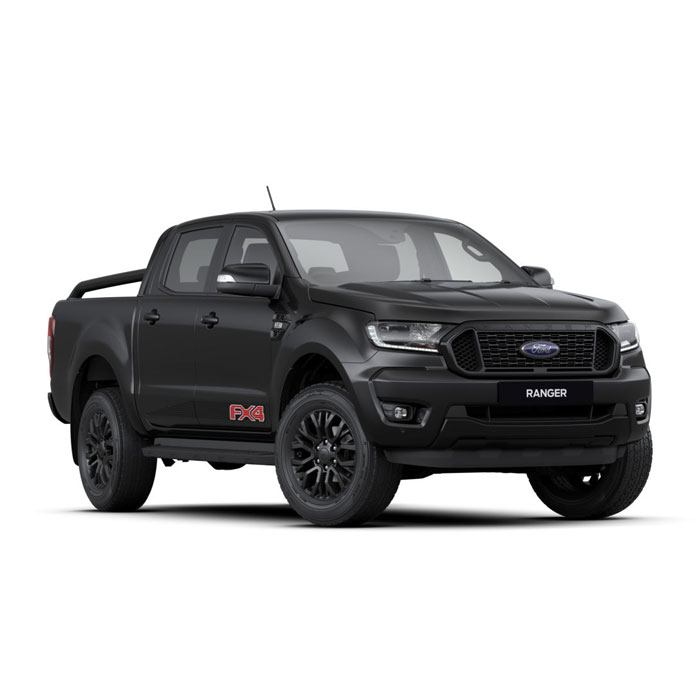 Absolute Black Ford Ranger