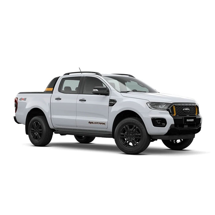 Arctic White Ford Ranger Wildtrak