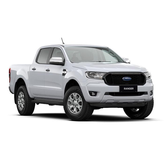 Arctic White Ford Ranger XLS