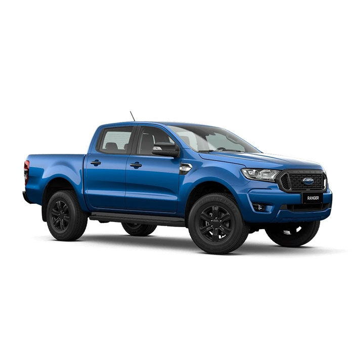 Blue Lightning Ford Ranger XLT