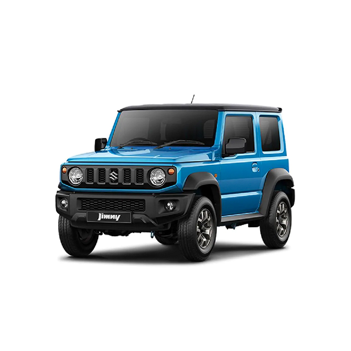 Brisk Blue Metallic Jimny Two Tone