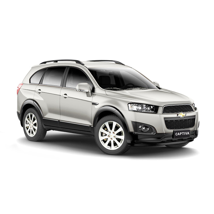 Chevrolet Captiva Summit White