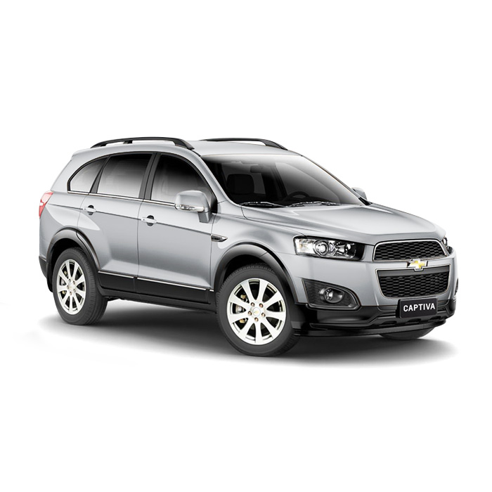 Chevrolet Captiva Switchblade Silver