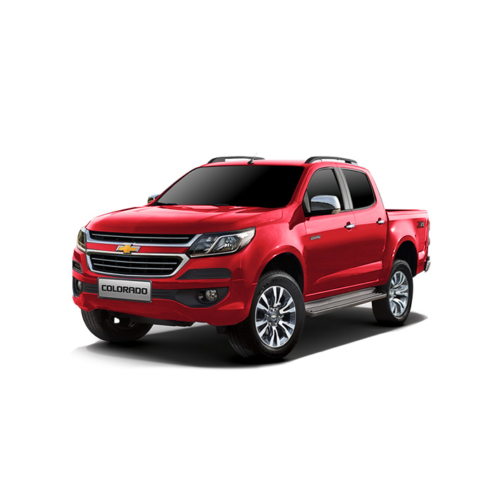 Chevrolet Colorado Pull Me Over Red