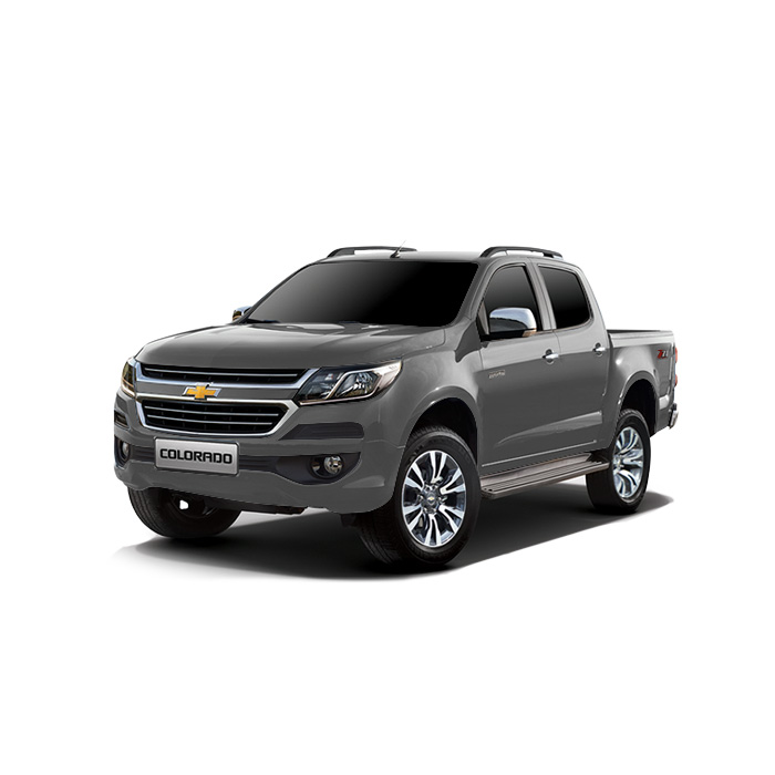 Chevrolet Colorado Satin Steel Gray