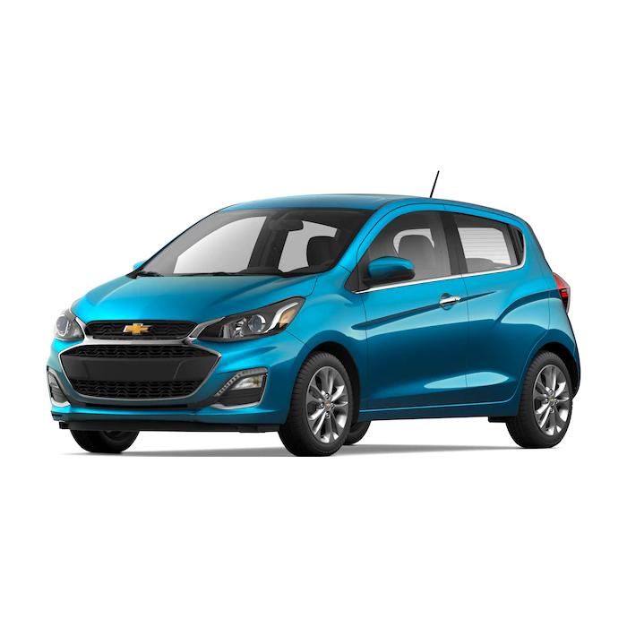 Chevrolet Spark Caribbean Blue Metallic Philippines