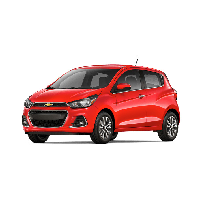 Chevrolet Spark Pull Me Over Red