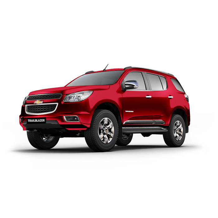Chevrolet Trailblazer Pull Me Over Red