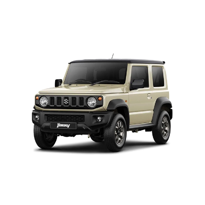 Chiffon Ivory Metallic Jimny Two Tone