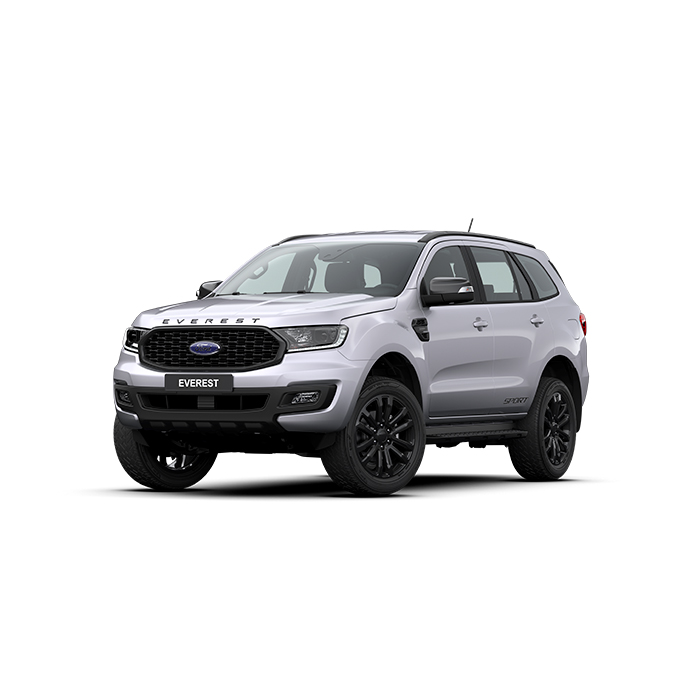 Ford Everest Sport Aluminum metallic