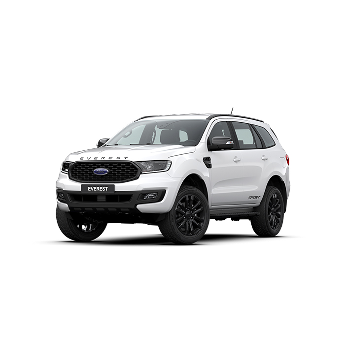 Ford Everest Sport Artic White