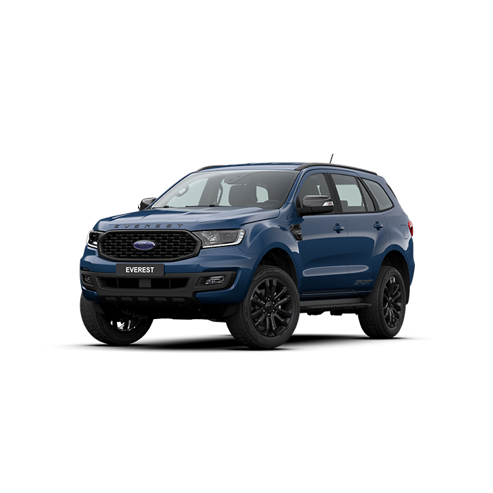Ford Everest Sport Deep Crystal Blue