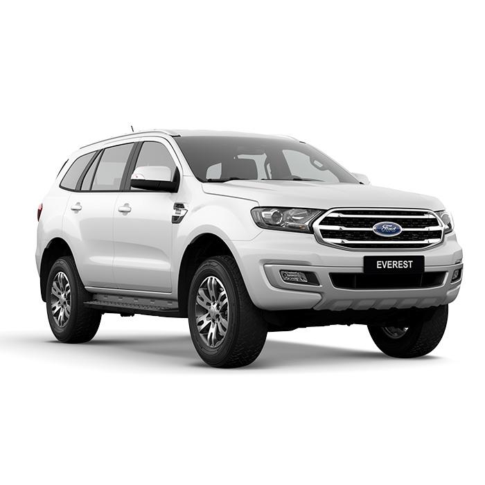 Ford Everest Trend Artic White