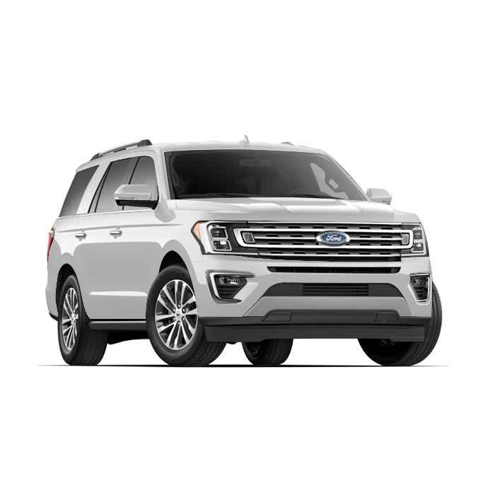 Ford Expedition White Platinum